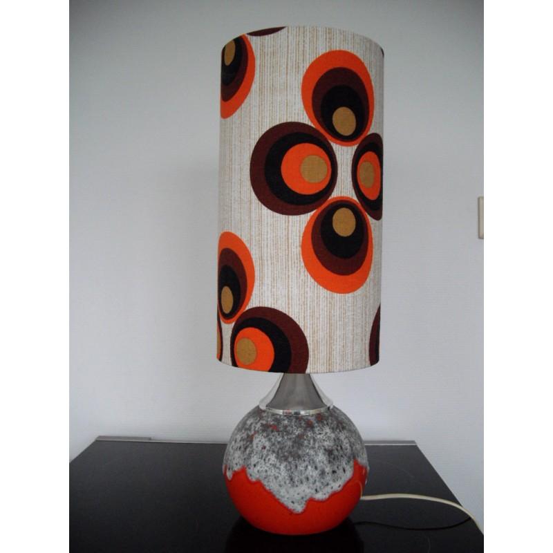 Lampe de table 1970 Apollo Shell