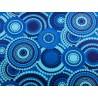 Abat-jour vintage Bleu BOHEME - H78 D30