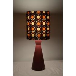 Lampe de chevet tissu motif...