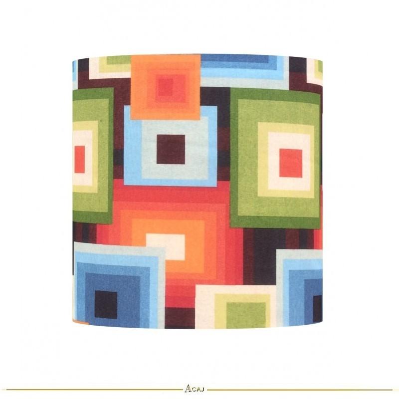 Abat-jour tissu Squared H32 D30