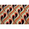 abat-jour vintage tissu motif Tokio H80 D35 D30