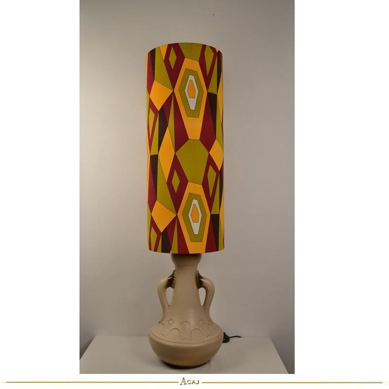 Lampe de sol Géo - vintage 1970s