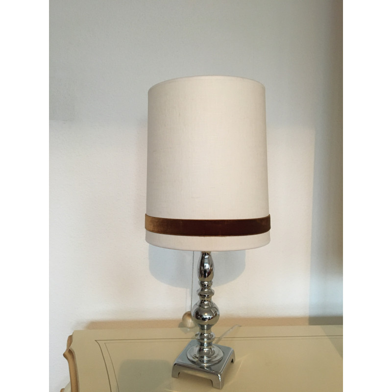 lampe pompom 1970