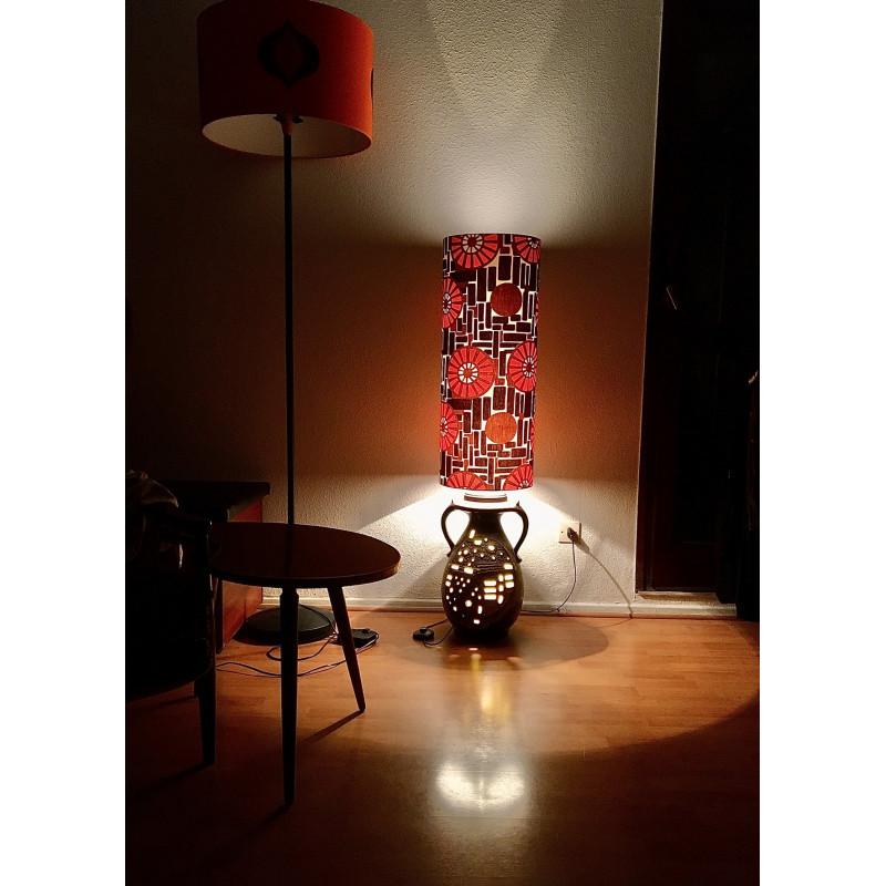Lampe de sol Mikado - vintage 1970's