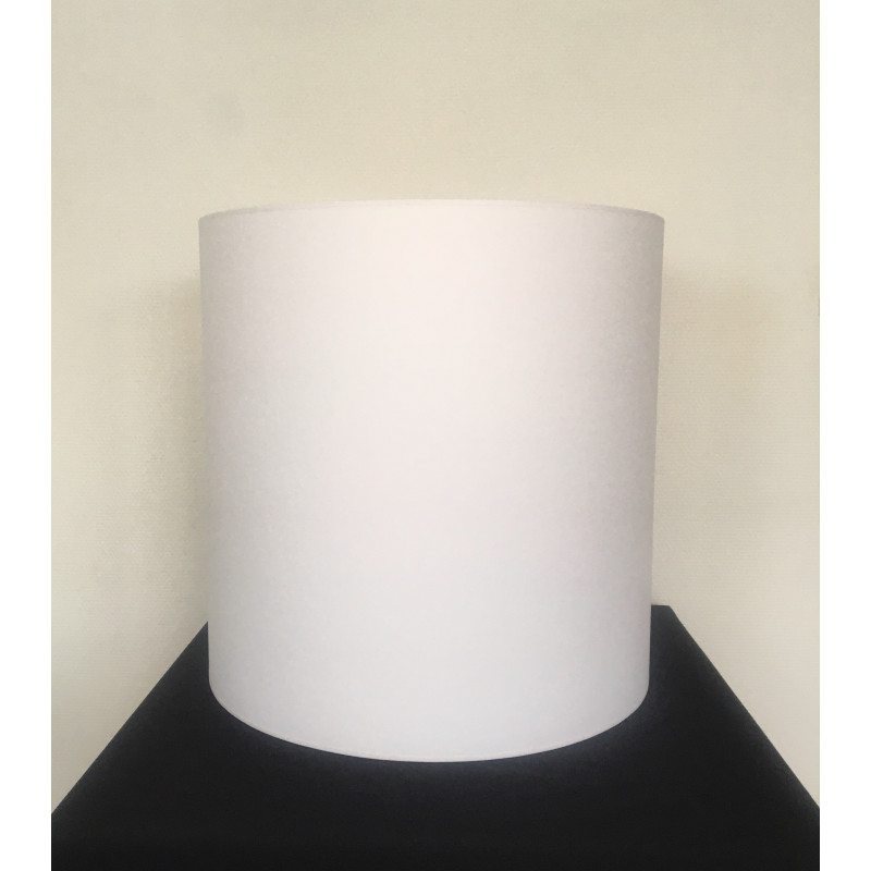 Lampshade Écru white H45cm D45cm