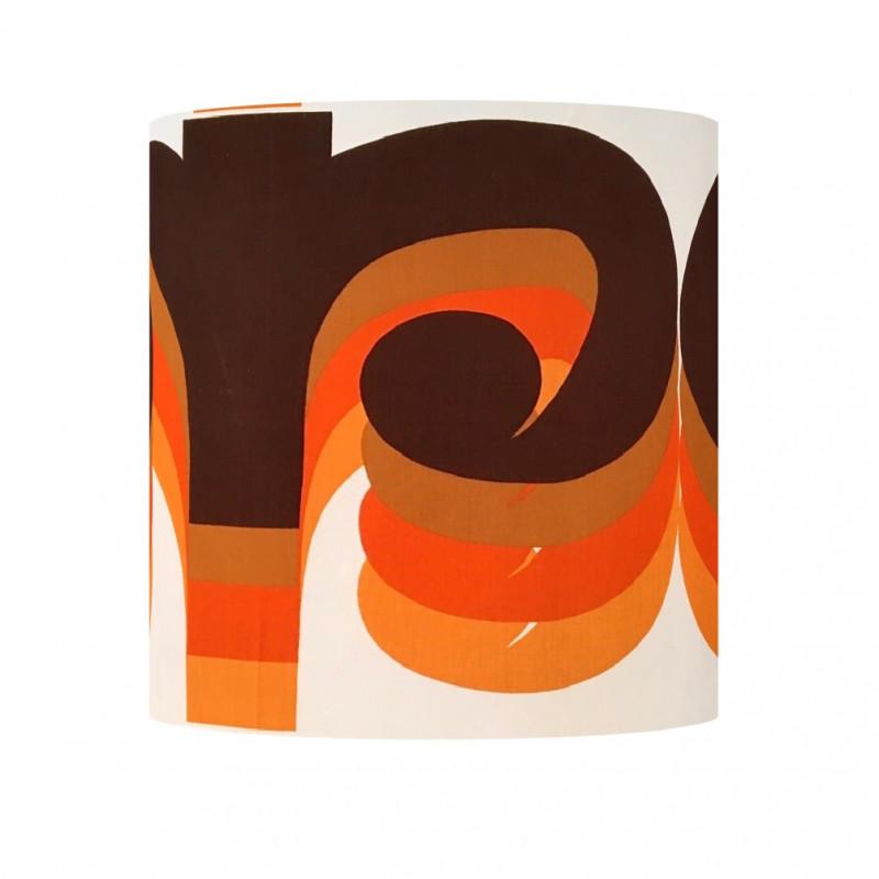Lampshade Omega H40cm D35cm - vintage tissue