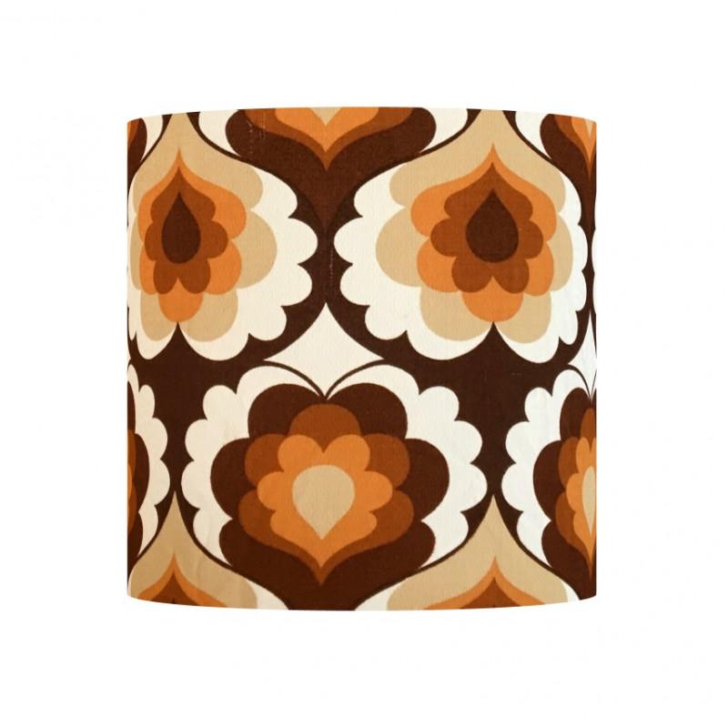 Lampshade Isis H30cm D30cm - vintage tissue