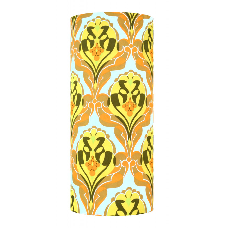 Lampshade Trophy H70cm D30cm - vintage fabric
