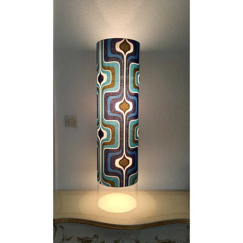 Lampe de salon Lamp'tub Aquaman H100 D25