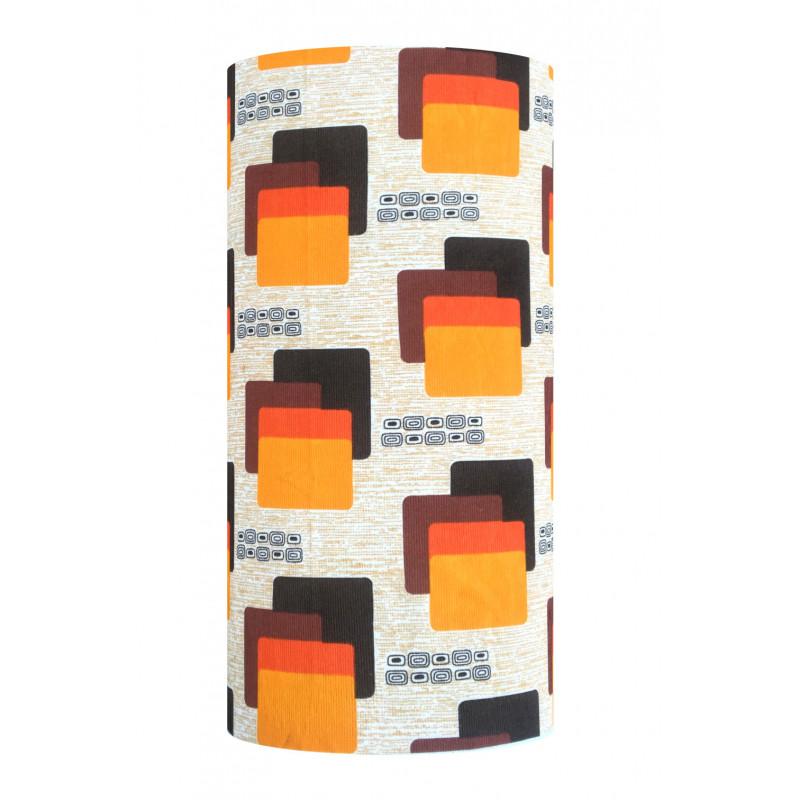 Lampshade Maori H60cm D30cm - vintage fabric