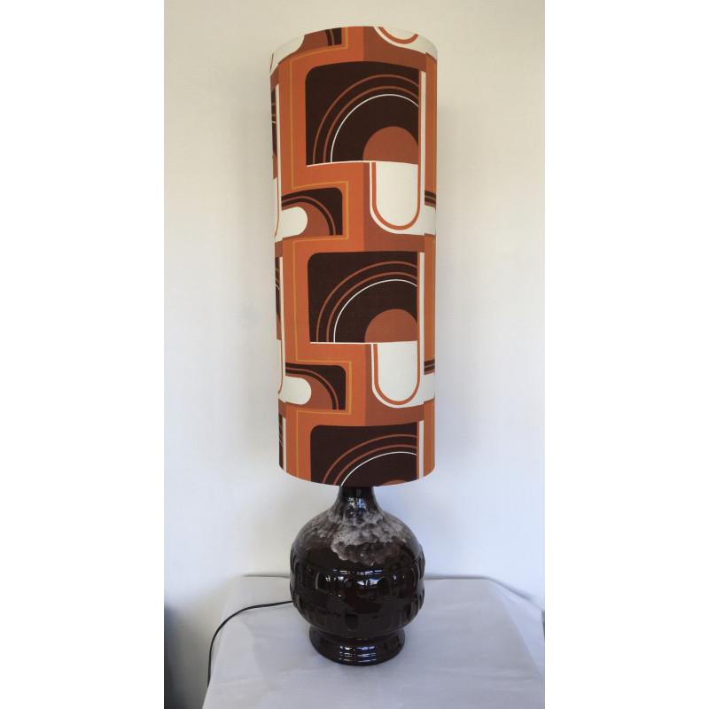 Lampe de sol Mécano - vintage 1970's