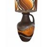 Lampe de sol Tampico caramel - vintage 1970's