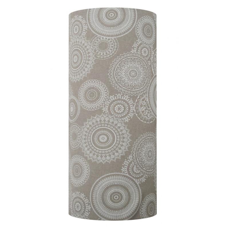 Lampshade Rosace white H75cm D30cm
