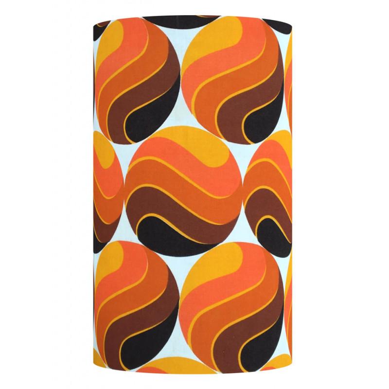 Lampshade Mango H60cm D30cm - vintage fabric