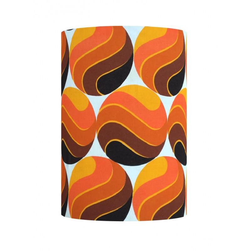 Lampshade Mango H36cm D30cm - vintage fabric