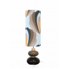 Lampe de sol Kotska Magnolia - vintage 1970's