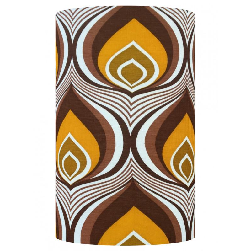 Lampshade Vela H50cm D30cm - vintage fabric