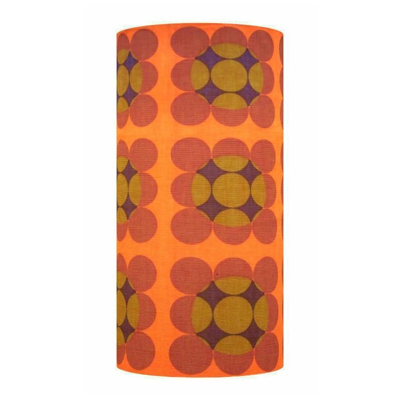 Lampshade Antares H60 D30cm - vintage tissue
